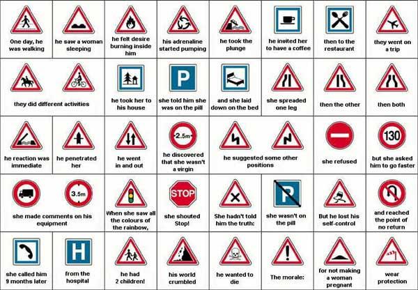 Gambar 1.19. Contoh Tanda-tanda Keselamatan di Tempat Kerja