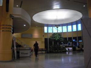 Bandara Sultan Mahmud Badaruddin II : Salah satu bagian dari ruang di Bandara Sultan Mahmud Badaruddin II
